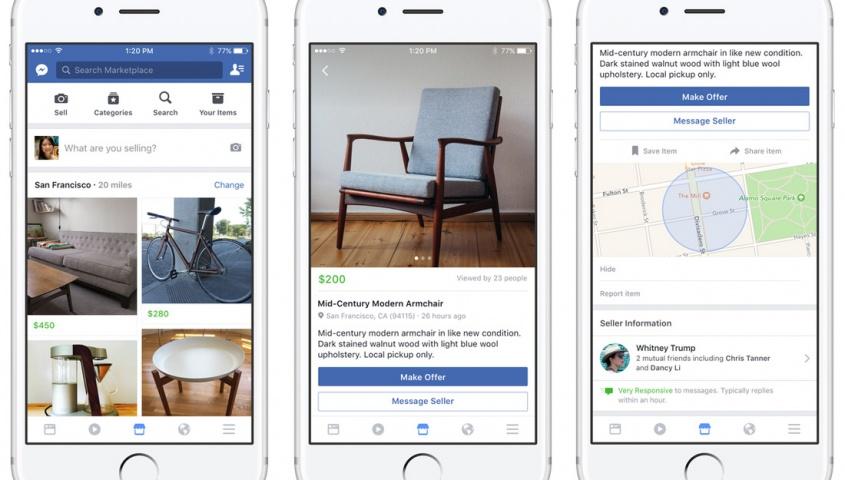 Facebook a annoncé hier le lancement de Marketplace aux États-Unis, au Royaume-Uni, en Australie et en Nouvelle-Zélande. Bouleversements à venir dans le secteur des petites annonces entre particuliers? Qu'en sera-t-il pour les entreprises?